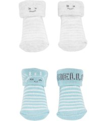 carter's baby boy or girl 2-pack keepsake booties