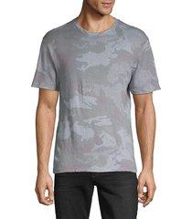 zadig & voltaire men's camouflage short-sleeve tee - khaki - size s