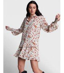 alix the label 2104916143 ladies woven floral blouse.