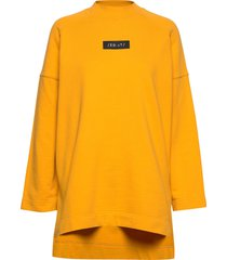 edit os sweat sweat-shirt trui geel superdry