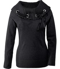 pullover (nero) - bodyflirt