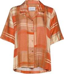 bogirl shirt blouses short-sleeved oranje holzweiler