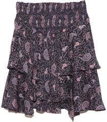 also skirt in faded night