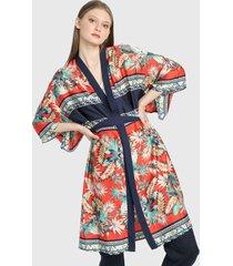 kimono rojo-azul-beige paris district
