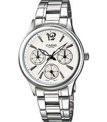 ltp-2085d-7a reloj multicalendario dama blanco