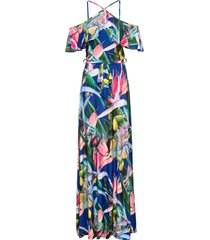abito estivo lungo (blu) - bodyflirt boutique