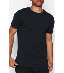 bread & boxers 2-pack crew-neck t-shirts & linnen black