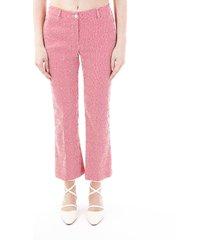 pt01 jaine blend cotton trousers