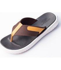 sandalias clásicas de playa con flip-flop chanclas hombre