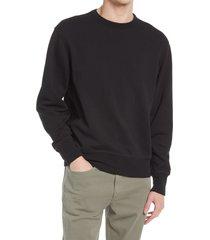 men's rag & bone bodega damon sweatshirt, size x-large - black (nordstrom exclusive)