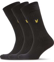 wesley underwear socks regular socks svart lyle & scott