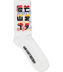 gcds white socks kawaii