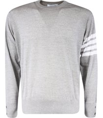 thom browne classic crewneck pullover