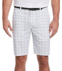 pga tour men's textured printed shorts