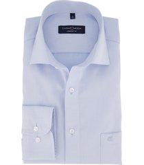 comfort fit casa moda overhemd lichtblauw