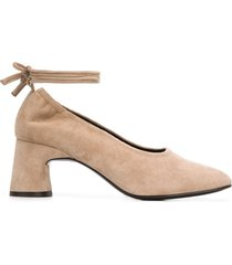dorateymur arena ankle-tie pumps - neutrals