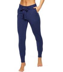 women's felina voyage belted jogger, size x-large - blue