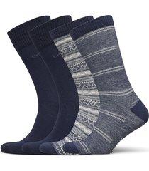 levis giftbox reg cut denim fair is underwear socks regular socks blå levi´s