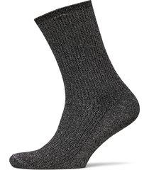 th women glitter sock 1p lingerie hosiery socks svart tommy hilfiger