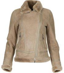 lammy coat kelly  bruin