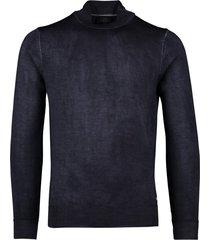 trui cavallaro donkerblauw wol