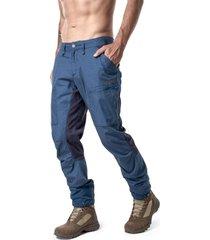 pantalon boina negra azul haka honu