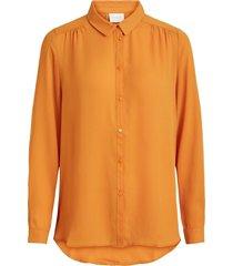 vila blouse 14051975 vilucy goud