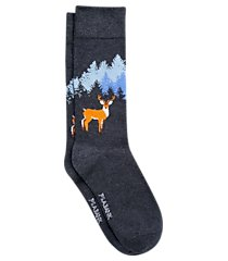 jos. a. bank buck pattern mid-calf socks, one-pair clearance