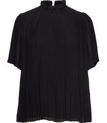 mindy ss 6621 blouses short-sleeved zwart samsøe samsøe