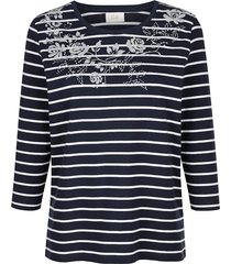 shirt paola marine::wit