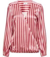 day portrait blouse lange mouwen rood day birger et mikkelsen