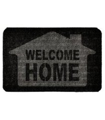capacho carpet welcome home cinza único love decor