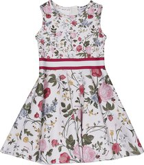 monnalisa printed sleeveless dress