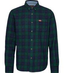 heritage lumberjack shirt overhemd casual groen superdry