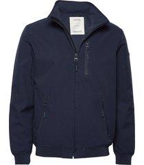 jackets outdoor woven dun jack blauw esprit casual