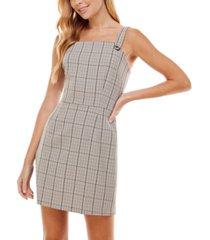 kingston grey juniors' printed jumper bodycon dress