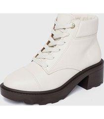 botín blanco vizzano