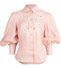 freja embroidered shirt