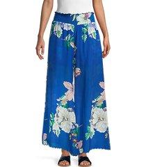 arlow floral silk pants