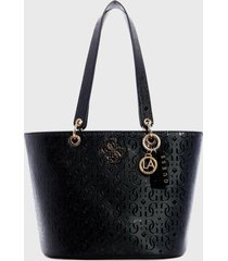 cartera  chic shine   negro guess