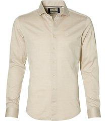 hensen overhemd - body fit - beige