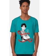 camiseta bandup! turma da mônica laços cebolinha laço masculina
