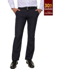 pantalón azul oscuro colore