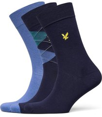 hewie underwear socks regular socks blå lyle & scott