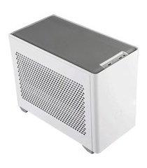 gabinete masterbox cooler master nr200 mcb-nr200-wnnn-s00 mini itx branco
