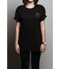 camiseta black heart
