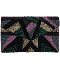 la regale fully beaded front envelope clutch