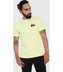 camiseta amarillo quiksilver neon colors