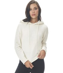 sweater hoodie chenille palo rosa corona
