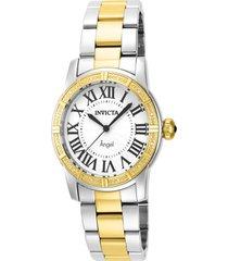 reloj invicta 14376 acero, oro acero inoxidable